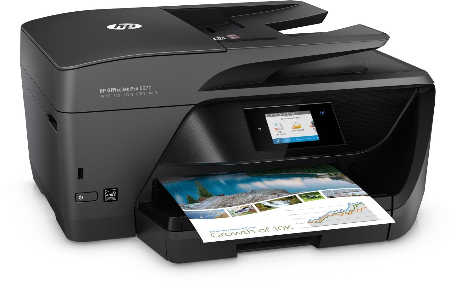An HP printer.