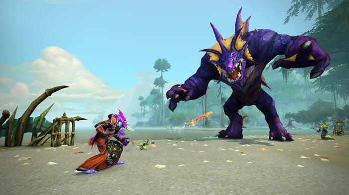 A screenshot from World of Warcraft.