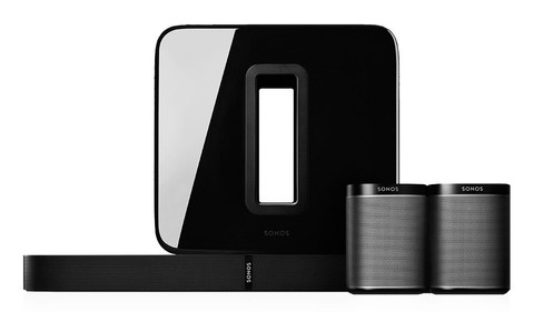 sonos surround sound 5.1 set
