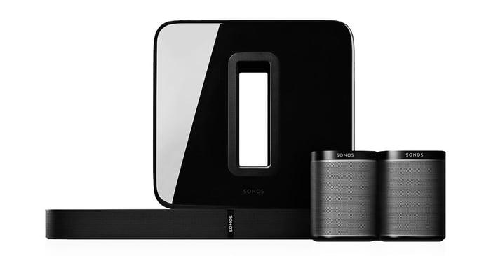 Sonos 5.1 surround sound set.