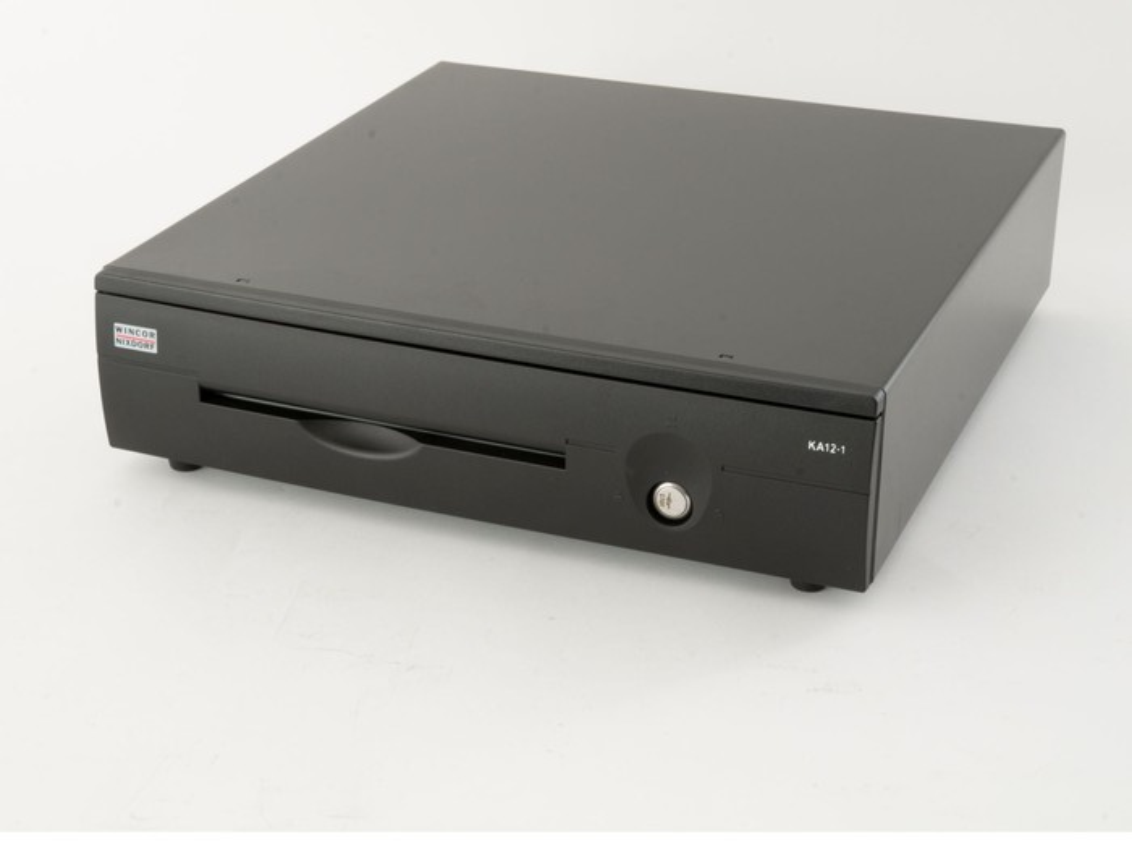 A Diebold Nixdorf cash drawer.