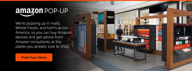 Amazon pop-up retail store
