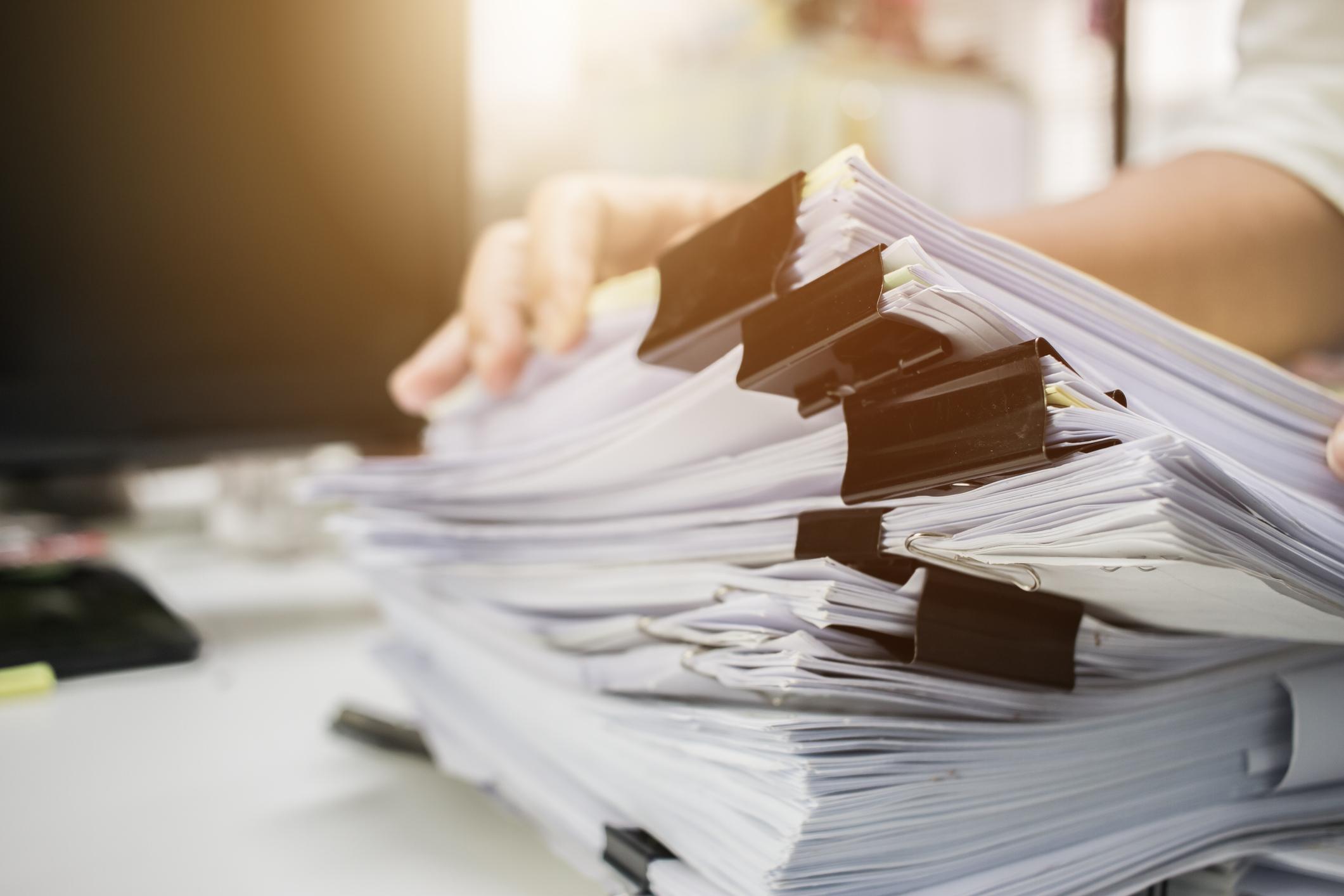How Long Do I Need to Keep Tax Documents?