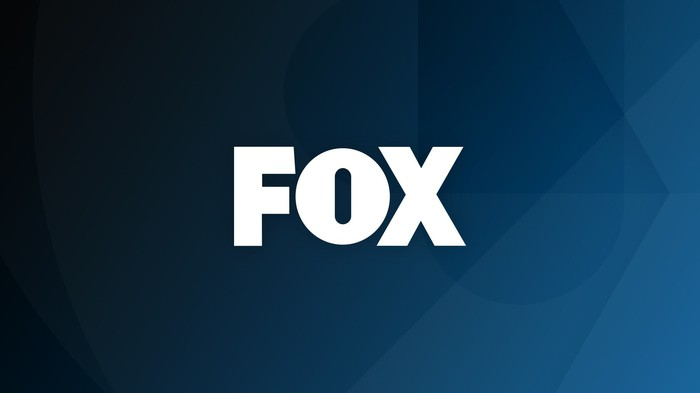 Blue background with Fox logo in white.