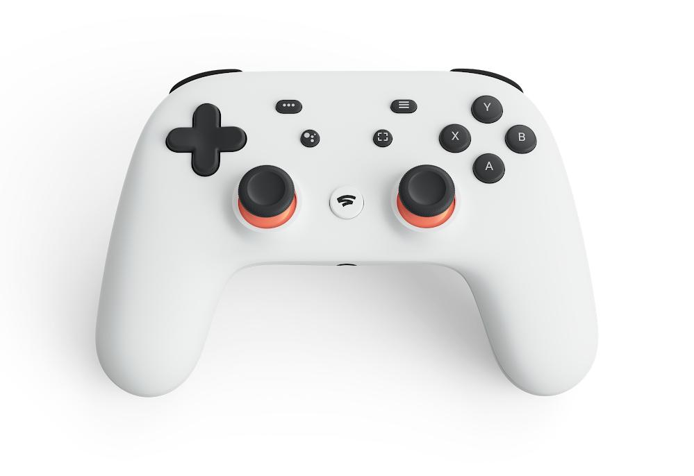 Google Stadia game controller.