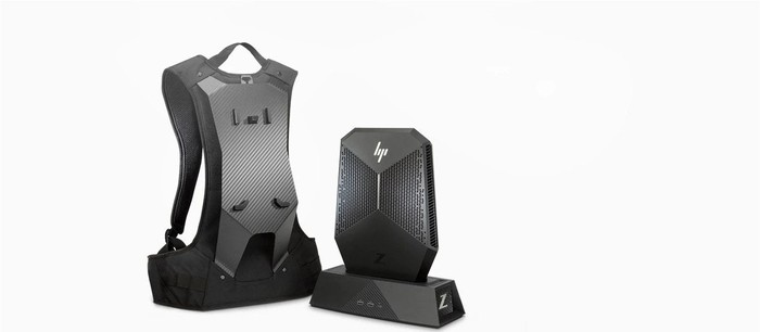 The HP Z VR backpack.