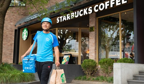 Consumer Goods Restaurants Starbucks China Alibaba SBUX BABA