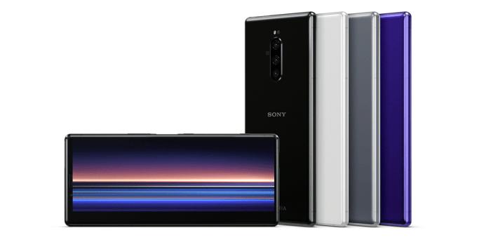 Sony's Xperia 1 smartphone.