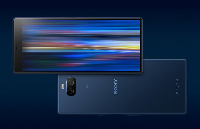 Sony's Xperia 10 smartphone.