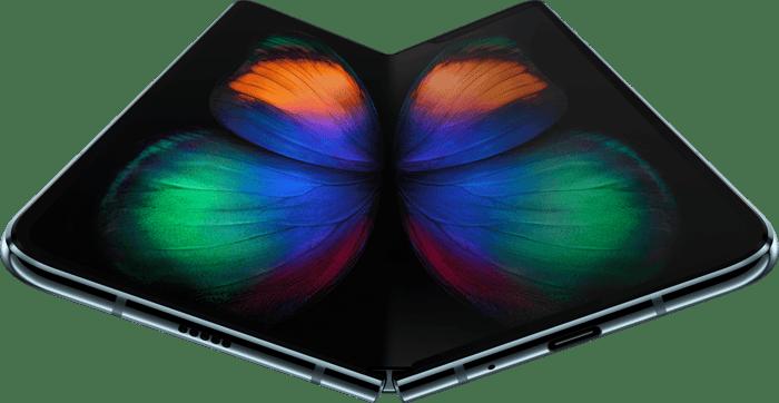 Samsung's Galaxy Fold smartphone.
