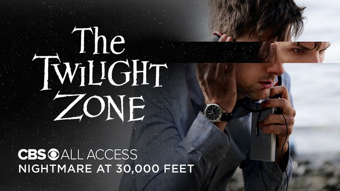 "Adam Scott in the ""Nightmare at 30,000 Feet"" episode of ""The Twilight Zone"" on CBS All Access."