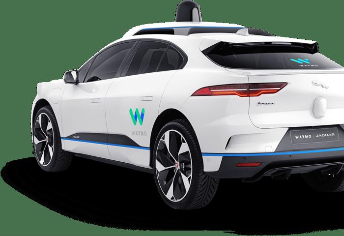 A Waymo/Jaguar vehicle
