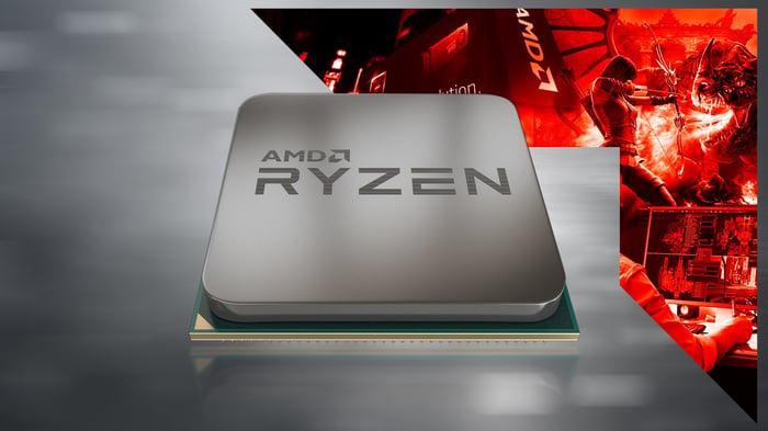 An AMD Ryzen CPU.