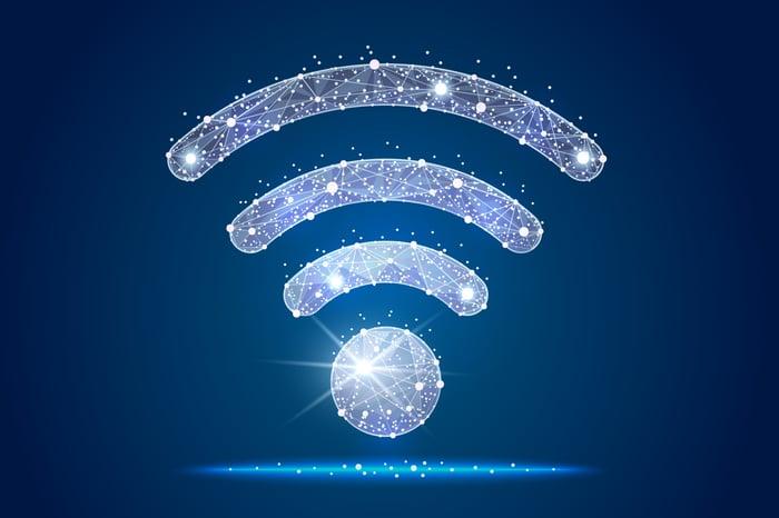 A Wi-Fi icon.