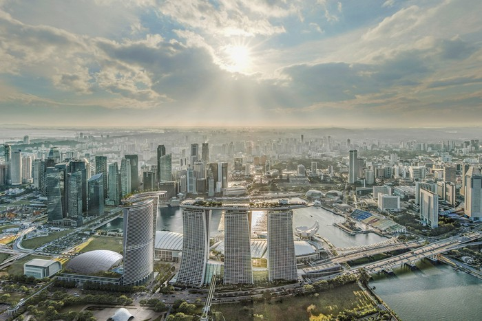 Marina Bay Sands' expansion plans.