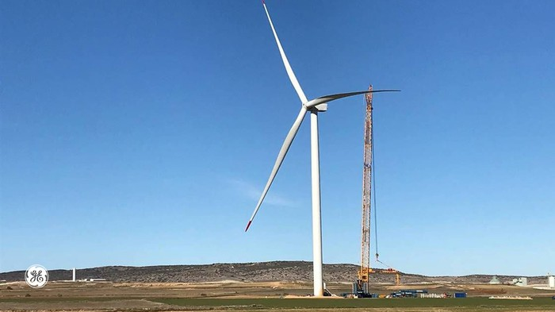 A GE-made wind turbine.