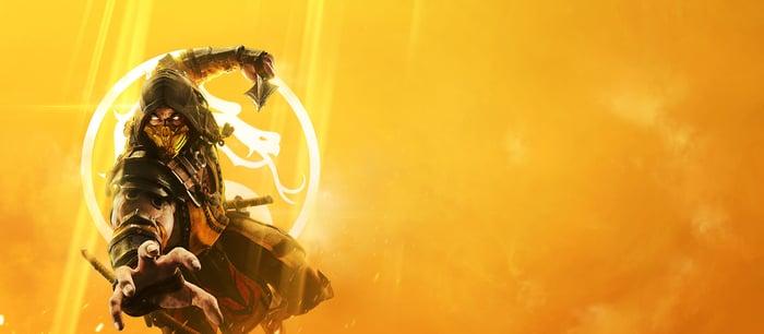 Mortal Kombat's Scorpion.