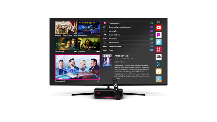 "T-Mobile's ""Disruptive"" Cable TV Offering Makes Its Debut"