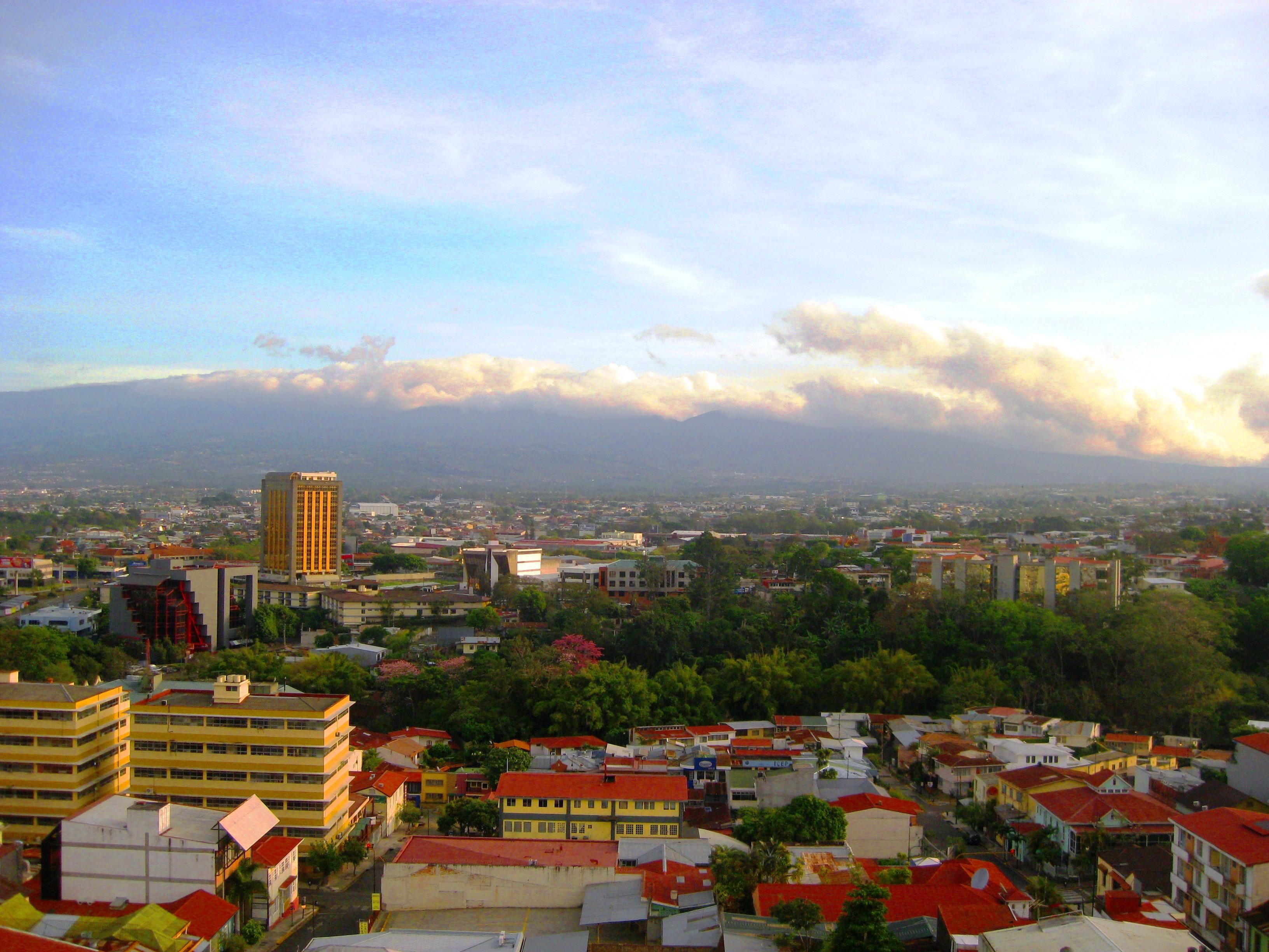 The city of San Jose, Costa Rica.