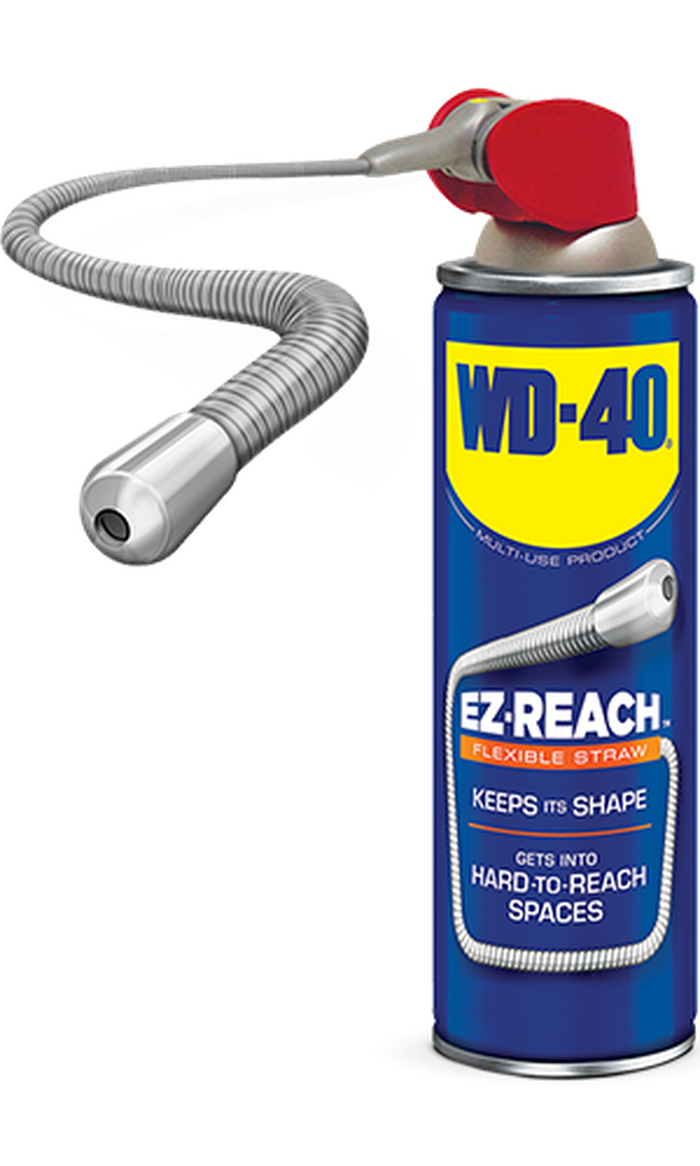 The EZ-Reach can with flexible straw.