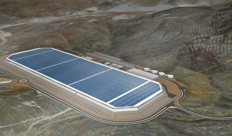 Tesla's Nevada Gigafactory IS Tesla
