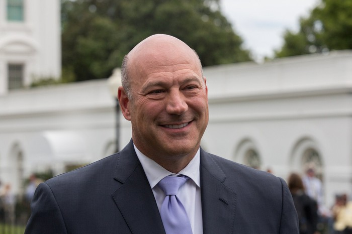 Former Director of the National Economic Council, Gary Cohn.
