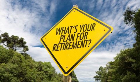 Getty - retirement road sign plan 401k pension future