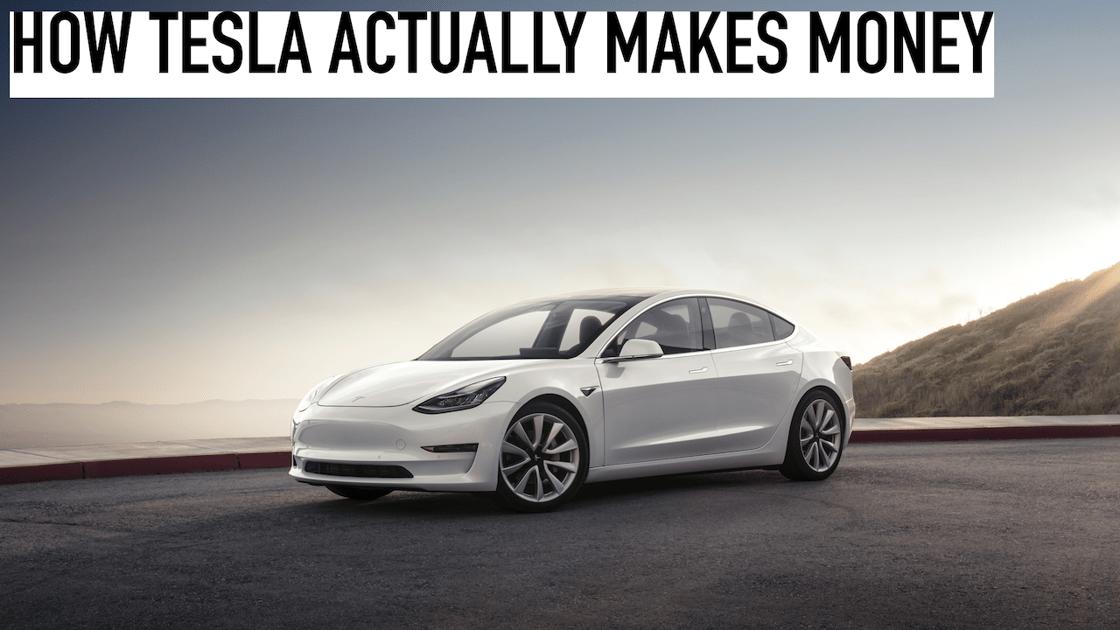 How Does Tesla Actually Make Money The Motley Fool