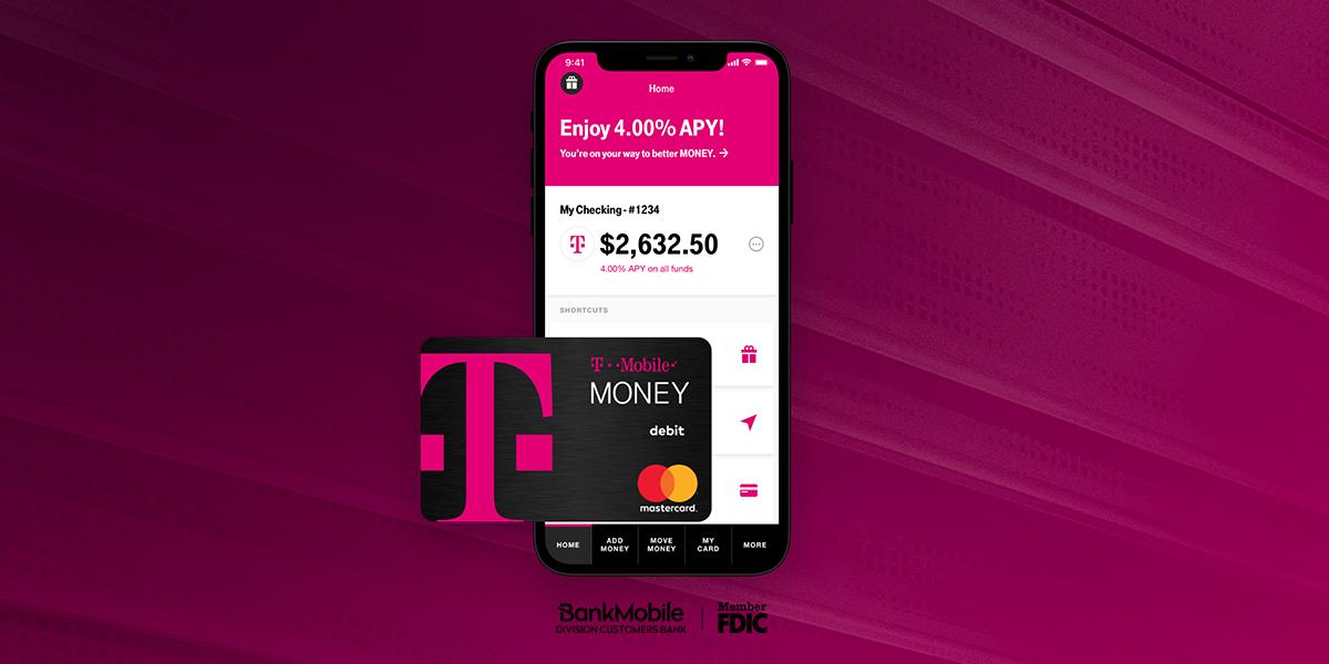 The T-Mobile Money app