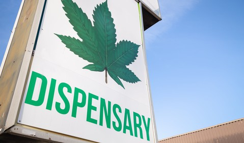 Cannabis Dispensary Weed Pot Marijuana Retail Legal Canada Getty