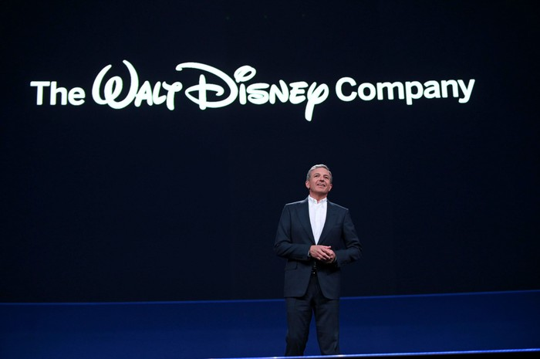 Bob Iger during Disney's Investor Day