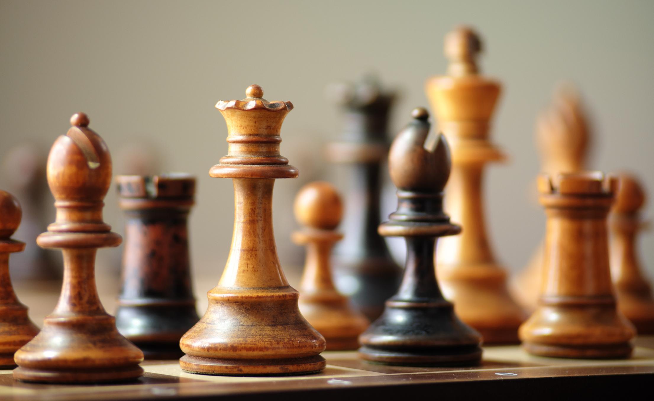 A chess set.