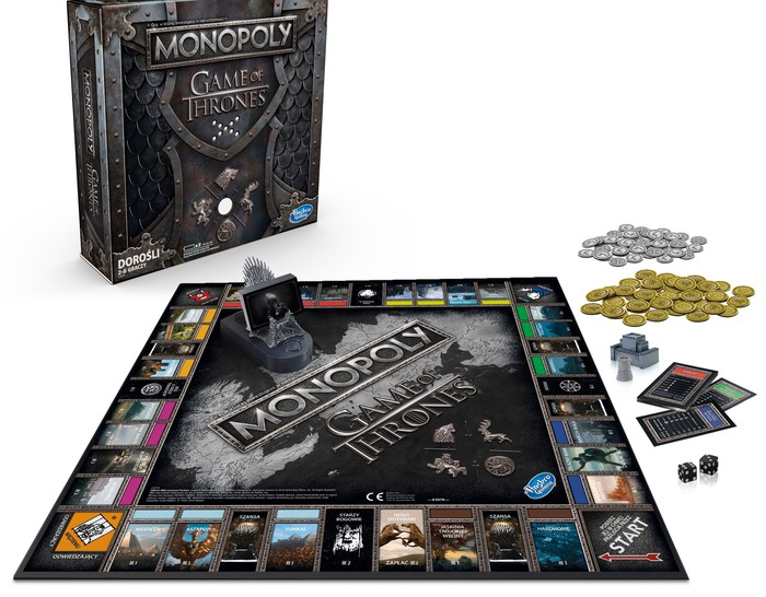 A Game of Thrones version of Monopoly.