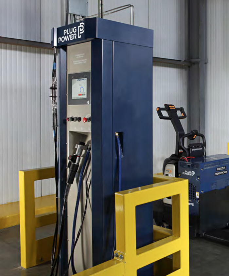 Plug Power's GenFuel dispensing solution.