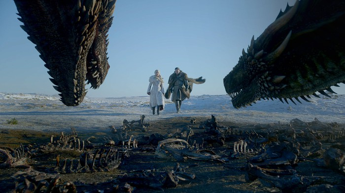 A screenshot from Game of Thrones on HBO.