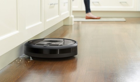 Roomba i7_Edge Sweeping