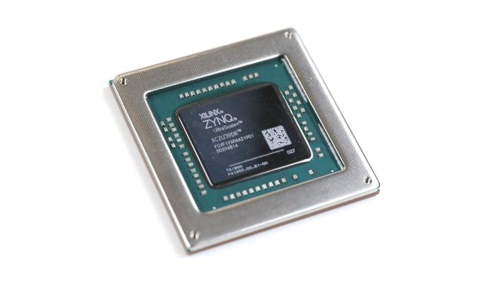 A Xilinx chip.