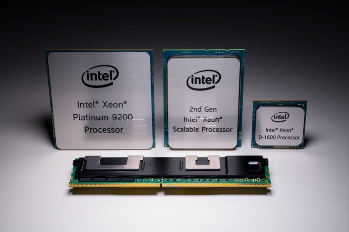 Intel data center chips