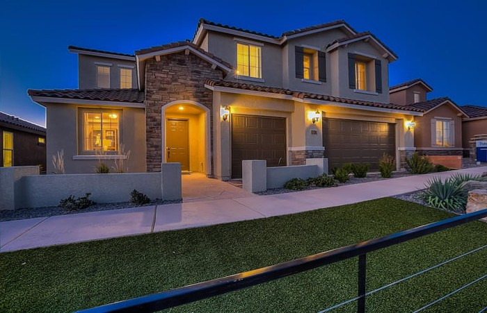 Newly constructed home for sale.