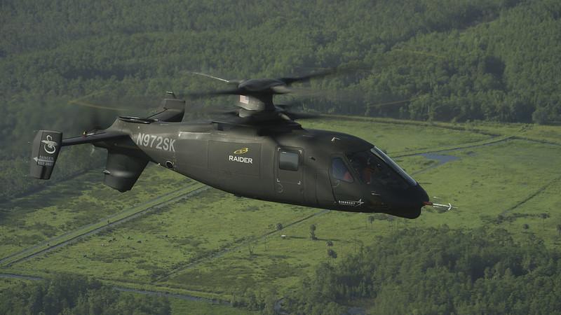 Lockheed Martin's Sikorsky Raider helicopter design.