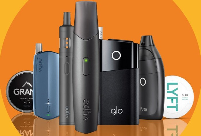 Image of e-cigarettes