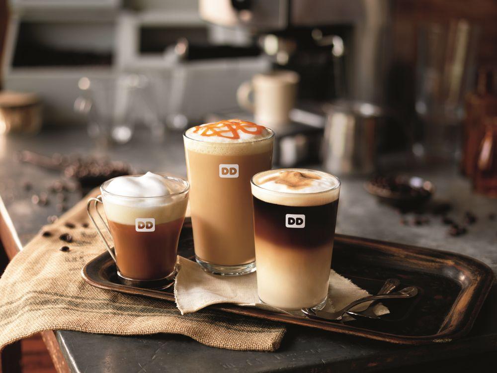 Dunkin's new espresso drinks.