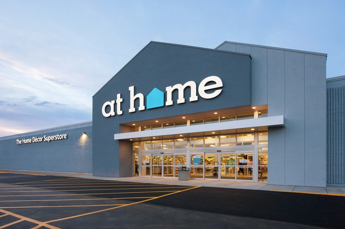 An At Home retail store.