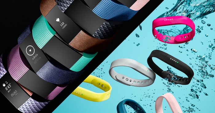 Fitbit fitness trackers.