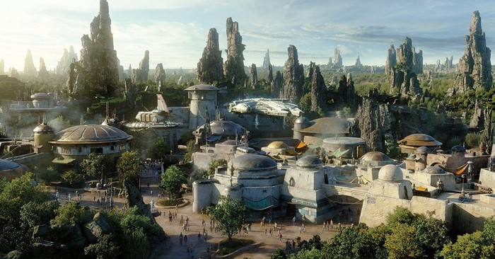 Image source: Concept art of Star Wars: Galaxy's Edge.