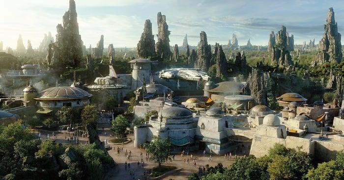 Image source : L'art conceptuel de Star Wars: Galaxy's Edge.