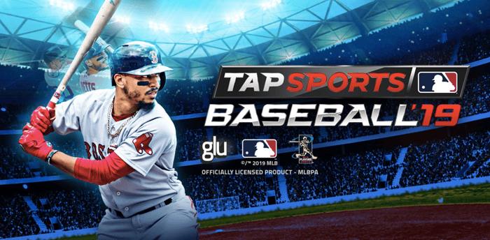 Cover art for Tap Sports Baseball '19.