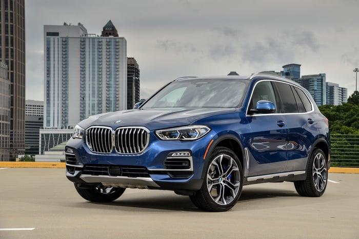 A 2019 BMW X5.