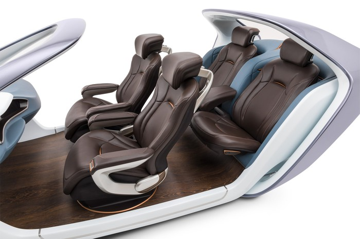 An Adient interior seating concept.
