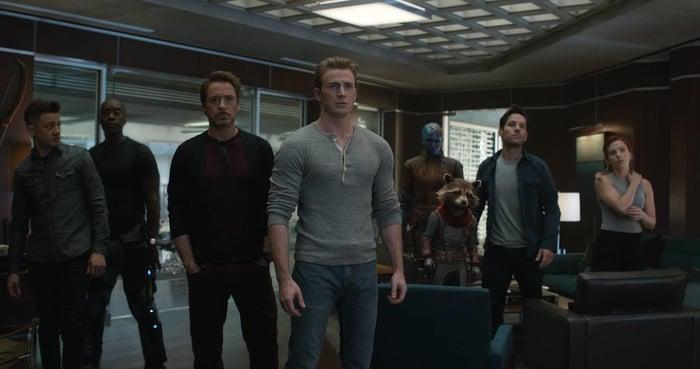 A scene from Avengers: Endgame.